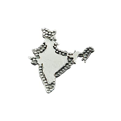 18a746e454d Buy fourseven Brooch in 925 Sterling Silver | Jai Hind India Brooch |  Unisex (Perfect for Gifting) Online at Low Prices in India | Amazon  Jewellery Store ...