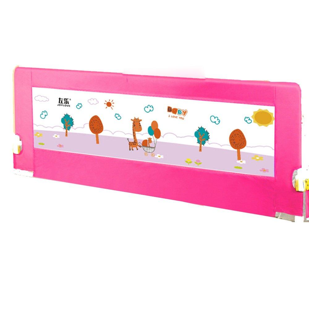 【第1位獲得!】 XIAOLIN ベッドフェンスの幼児の安全防滴折りたたみベッドガードレールの赤ちゃんのベッドサイドの保護 (色 : サイズ Pink, サイズ さいず : さいず 180cm) : 180cm Pink B07FKJCBVM, デザイナーズ帽子MANABoo Premium:61b1ad47 --- a0267596.xsph.ru