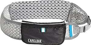 CamelBak Ultra Belt Quick Stow Flask Hydration Waist Pack, Black/Silver, X-Small/Small
