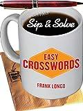 Sip & Solve®: Easy Crosswords (Sip & Solve® Series)