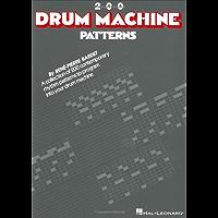 200 Drum Machine Patterns book cover