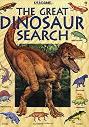 The Great Dinosaur Search (Usborne Great Searches)