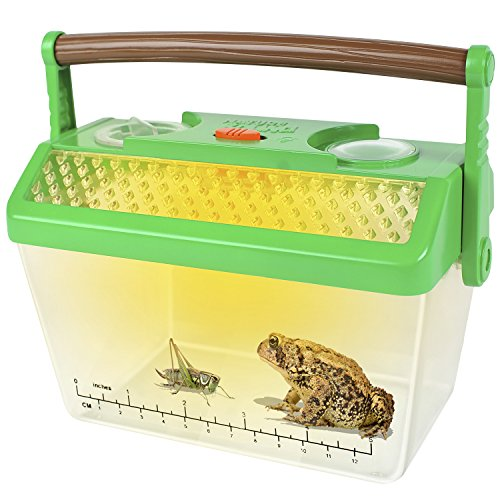Nature Bound Bug Catcher Critter Barn Habitat for Indoor/Outdoor Insect Collecting with Light (Bug House Kit)