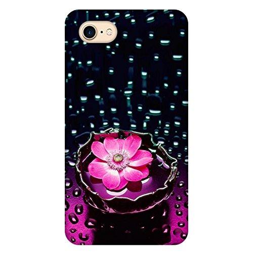 Coque Apple Iphone 7 - Fleur Lotus rose