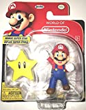World of Nintendo Mario 2.5 inch Figure with Super Star