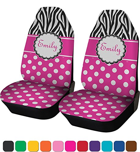 personalized name car seat covers - 1