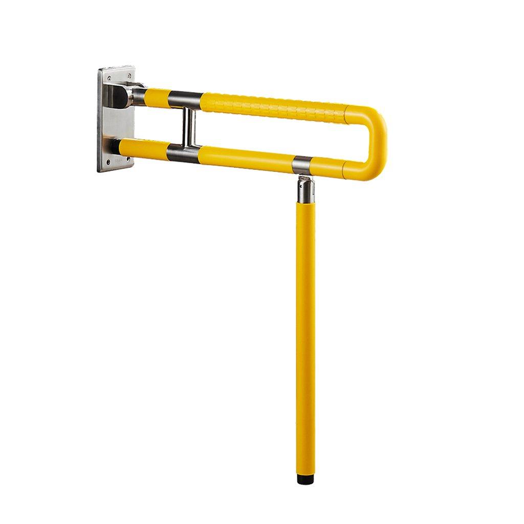 バスルーム手すり折り畳みナイロンノンスリップ高齢者、障害者バリアフリーの安全手すりバスルーム、トイレ、ハンドルと手すり (色 : 1, サイズ さいず : 600mm) B07DQ67VKP 600mm|1 1 600mm