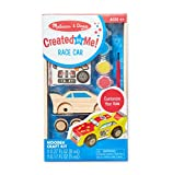 Melissa & Doug Created by Me! Race Car Wooden Craft Kit, Great Gift for Girls and Boys - Best for 4, 5, 6, 7 and 8 Year Olds