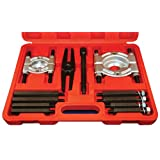 ATD Tools 3056 Bar-Type Puller/Bearing Separator Set in Molded Storage and Carrying Case, 5 Ton Capacity