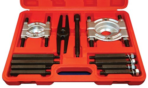 ATD Tools 3056 Bar-Type Puller/Bearing Separator Set in Molded Storage and Carrying Case - 5 Ton (Ton Capacity Push Puller)
