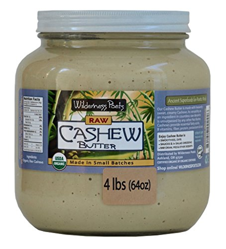 Wilderness Poets Organic Cashew Butter product image