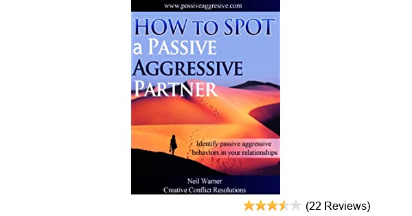 Books about passive aggressive behavior