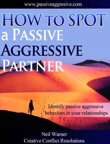 dealing with a passive aggressive husband