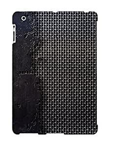 High Quality Podiumjiwrp Metallic Texture Skin Case Cover Specially Designed For Ipad - 2/3/4