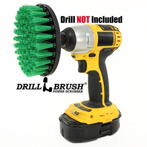 carpet-brush-drill-attachment-medium-duty-scrubbing-drill-brush-with-quarter-inch-quick-change-shaft