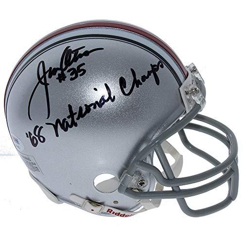 Jim Otis Ohio State Buckeyes Autographed Signed Riddell Mini Helmet - PSA/DNA - Mini Helmets Autographed Ncaa