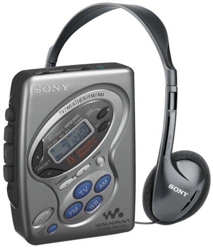 Sony WM-FX281 Cassette Walkman with Digital Tuner by Sony