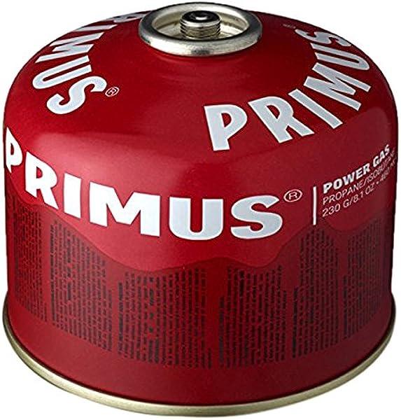 Primus - Bombona de gas, 230 g: Amazon.es: Deportes y aire libre