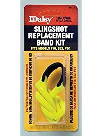 Daisy Outdoor Products 988172-446 Slingshot Replacement Band, Yellow/Black, Fits Models F16, B52 and P51
