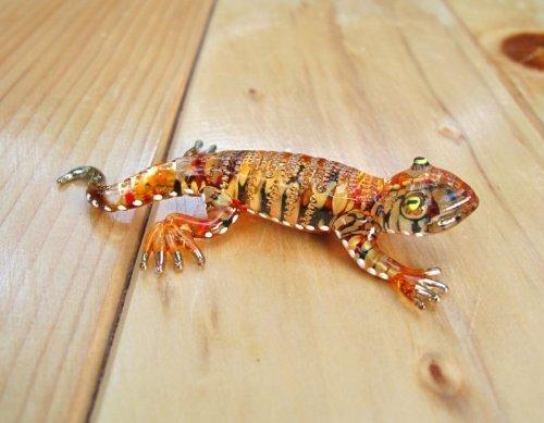 Lizard Animals (Handmade Lizard Art Glass Blown Reptiles Animal Figurine)