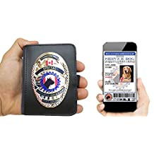 Service Dog Badge & Carrying Case | CA Version (Badge & ID Tag)