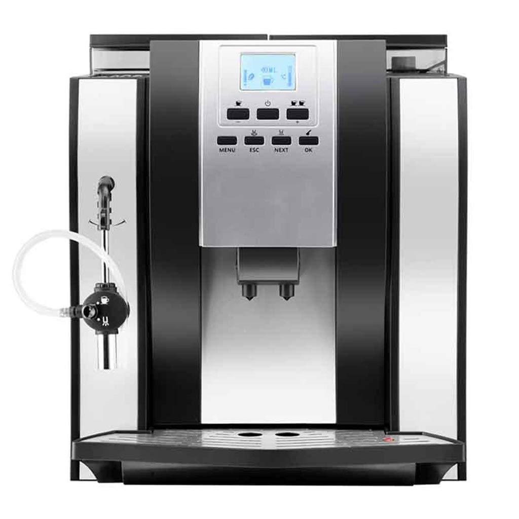 エスプレッソマシン、デジタルコーヒーメーカー1250ワット•1600mL水タンク•家庭、ビジネス、パーティーに最適   B07Q4QPR2G