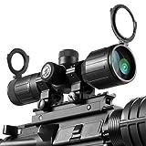 BARSKA 3-9x40 Compact Contour IR 4A Mil Plex Riflescope