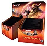 MTG Magic The Gathering Battlebond Booster Box - 36 packs of 15 cards each