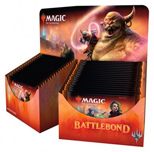 36ct Booster Box - MTG Magic The Gathering Battlebond Booster Box - 36 packs of 15 cards each