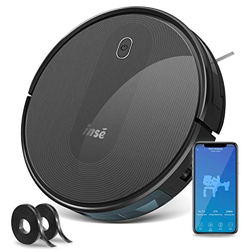 Lowest Prices! Robot Vacuum Cleaner with Self Charging and 1800Pa Powerful Suction, Works with Alexa...