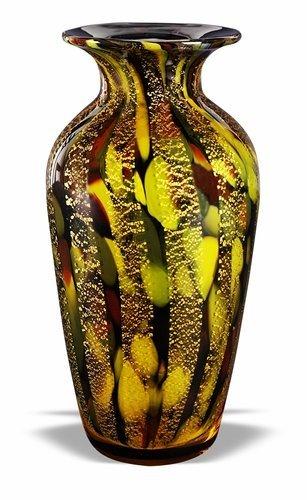 Badash Crystal Golden Urn Vase