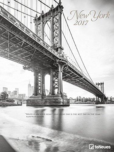 New York 2017 - Posterkalender, Wandkalender, Städtekalender mit spektakulären Ansichten  -  48 x 64 cm