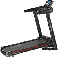 Marshal Fitness Compact Design Daily Fitness and Exercise Treadmill for Home Use- Fordable-MF-132-1 (Black)