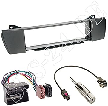Einbauset Autoradio 1 Din Einbaurahmen Radioblende Elektronik