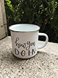 Best Starbucks Friend Gifts For Hers - How you Doin Camp Mug | Hand lettered Review