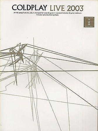 Coldplay: Live 2003 (TAB). Partituras para Acorde de Guitarra ...