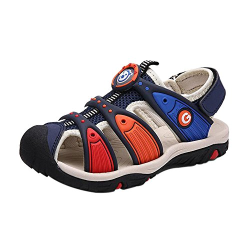Meijunter Sommer Kinder Jungen Colorful HohlStrand Sandale Casual Sport Walking Schuhe
