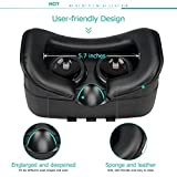Sealegend VR Headset for 3D Videos Games Fit 6.0 Inches and Smaller...