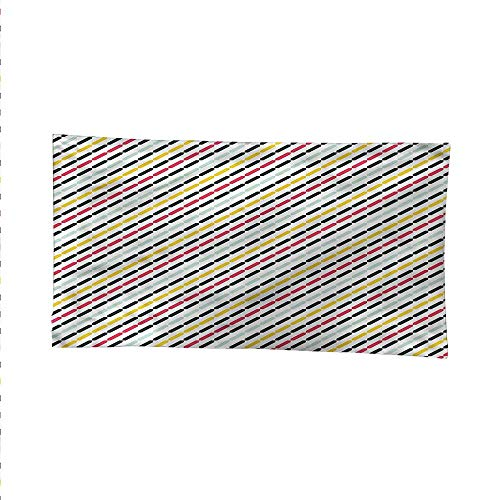 (Colorfulsimple tapestryart tapestryDiagonal Bracket Lines 60W x 40L Inch )
