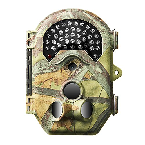 Siensen Trail Camera 16 MP 1080P 0.5S Fast Trigger Hunting Camera with 38 PCS 940NM No Glow LEDs 120 PIR Wide Angle PIR Distance Up to 65ft20m 2.0 LCD Waterproof Wildlife Camera