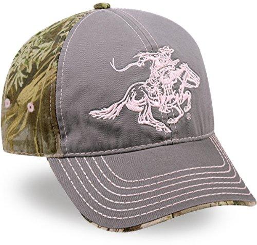 Winchester Ladies' Grey & Max-1 Cotton Twill Cap ()