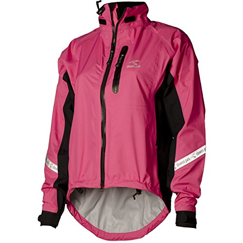 Showers Pass Women's Waterproof Breathable Elite 2.1 Cycling Jacket (Electric Rose - Small)