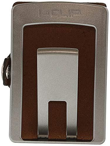 Full Grain Leather I-CLIP Slim Wallet Thin Design /& Money Clip Minimalist