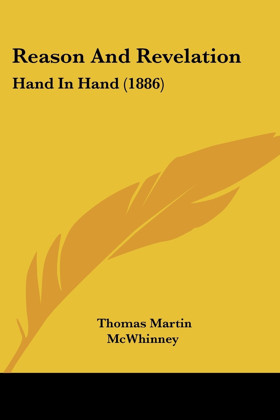 Reason And Revelation: Hand In Hand (1886) pdf