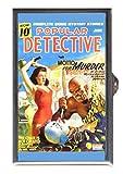 Clown Circus Pulp Magazine Murder Retro Decorative Pill Box