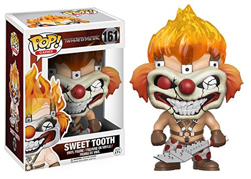 Funko POP Games: Twisted Metal-Sweet Tooth Action Figure -