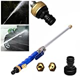 WXLAA 18'' Aluminium High Pressure Power Washer Spray Nozzle Water Gun Car Garden Use