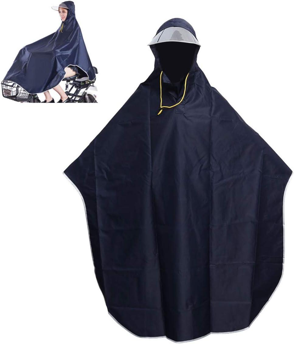 VORCOOL - Poncho impermeable para hombre y mujer, con capucha ...