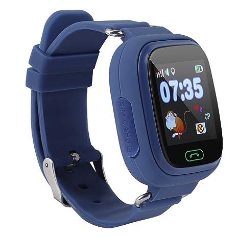 Vbestlife Reloj GPS para Niños Inteligente Pantalla Táctil Color LBS Posicionamiento Apoyo Chat de Voz Funcion
