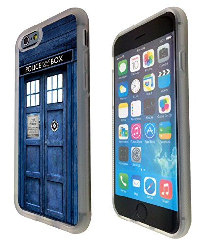 iPhone 6 4.7 Doctor Who Tardis Police Call Box Design Fashion Trend Schutzhülle rückseitigen Schutzhülle Zitat Gel Rubber Schutzhülle